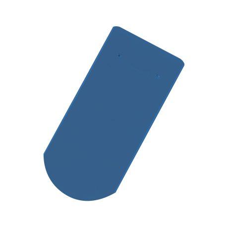 Solzi cu taietura semicirculara albastru