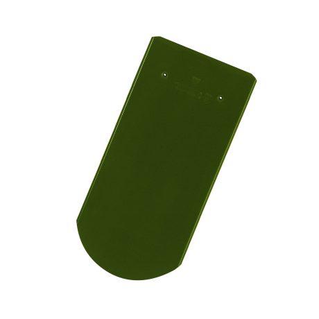 Solzi cu taietura semicirculara verde deschis lucios
