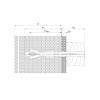 diblu pentru fațade SDP-KB-10S schita
