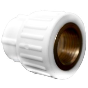 "RACORD PPR 25 MM X 1/2"", CU FILET-INTERIOR, SUPRATHERM"