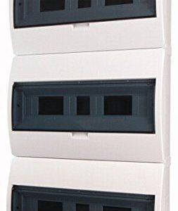 Tablou electric Eaton, 54 module, 3x18, montaj aparent, grad protectie IP40, BC-O-3 54-ECO